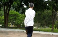 太極拳履丶肩膀靠之重點
